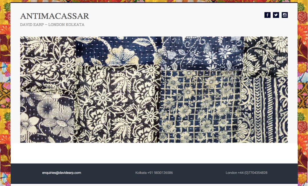 Alison Saracena designs - ANTIMACASSAR V3